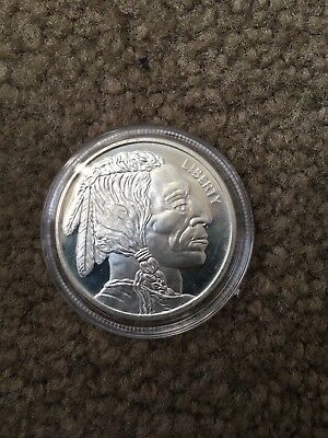 Silver Liberty Coin Indian head .999