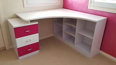 High Quality Kids Corner Desk For Childs Bedroom - Make Me An Offer