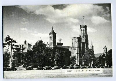 Smithsonian Institution Pictorial Booklet 1950's Arts & Industry  Building