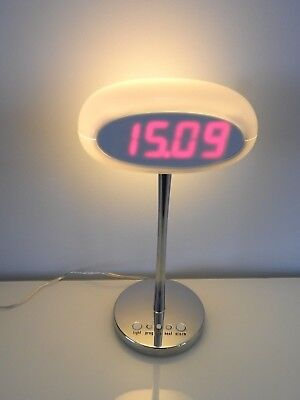 Artemide Karim Rashid Time & Space Lamp & Alarm Clock Rare Boxed Expo Model