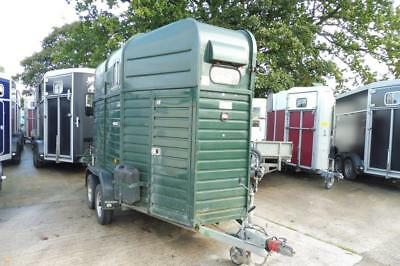Used Rice Double Beaufort Twin Axle Horse Trailer
