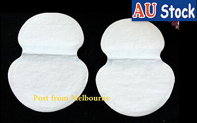 10 Disposable Sweat Absorbing Thin Pads Guards Antiperspirant Underarm Armpit