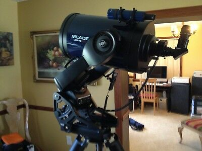 Meade 12 LX200 GPS wUHTC Coatings, SBIG CCD, Televue Nagler, and Much More!