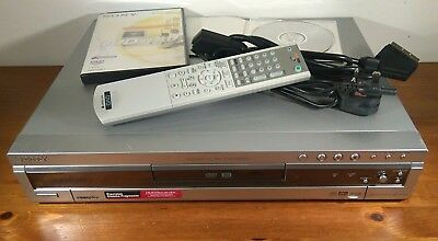 Sony Multi Format DVD Recorder / Player with Remote, Leads & Manual. RDR-GX300