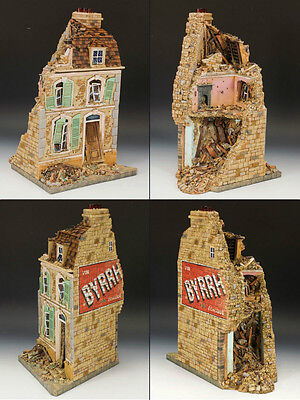 KING AND COUNTRY Bomb-damaged French House SP47 SP047