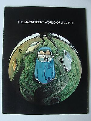 1974 Magnificent World of Jaguar Brochure - E-Type V--12, XJ12C, XJ6, XJ12L