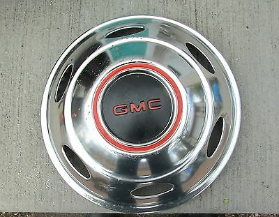 """Vintage 15"""" Chevy GMC Truck Simulator Wheel Cover Hubcap Hub Cap Great Condition"""