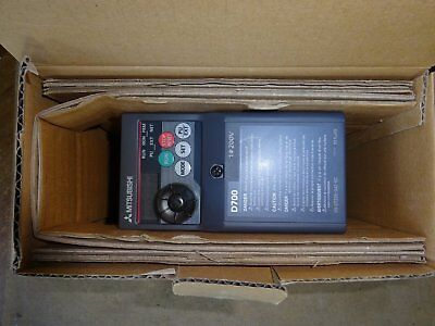 MITSUBISHI FR-D720S-042-EC SINGLE TO 3 PHASE INVERTER 4.7A output New boxed