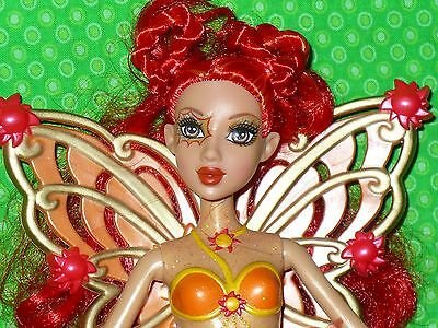 "Barbie Doll FAIRYTOPIA Magic of the Rainbow SUNBURST FAIRY 10.5"" tall"