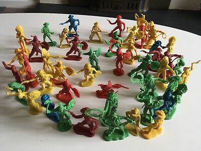 Vintage Cowboys And Indians 1/32 X 48 Pieces Unbranded