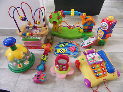* Lot jouets éveil * FISHER PRICE, IKEA, CHICCO * 12 mois + * BETAT ! *