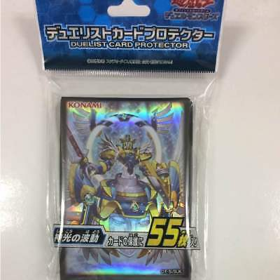 Yugioh Card Sleeve Protector : Angel Paladin Arch-Parshath / 55pcs japan OCG