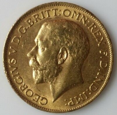 1912 Great Britain Gold Sovereign