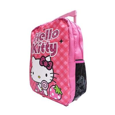 Sac à roulettes Hello Kitty 42 CM Trolley Rose - Cartable