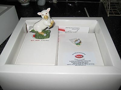 Wade Collectors Club 2004 The Lamb In Box, With Badge  Figurine And Certificate
