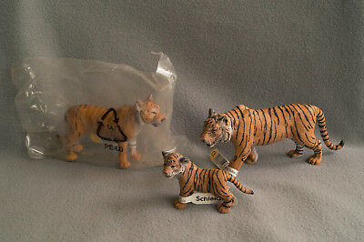 Schleich Tigers Family 14369/14370/14372, Retired