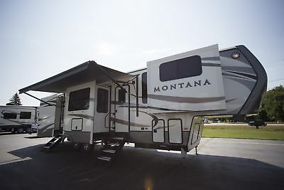 2018 Keystone Montana 3731FL Fifth Wheel Front Living RV