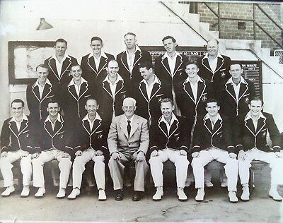 Australia 1953 Ashes Team Original Squad Photograph