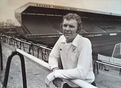Bobby Moore Fulham'S New Signing Craven Cott Photograph