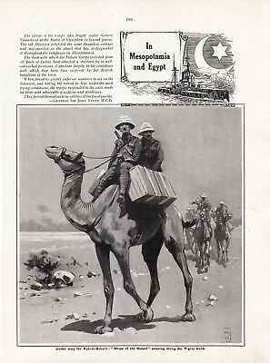 World War 1, In Mesopotamia and Egypt, 6 Pages