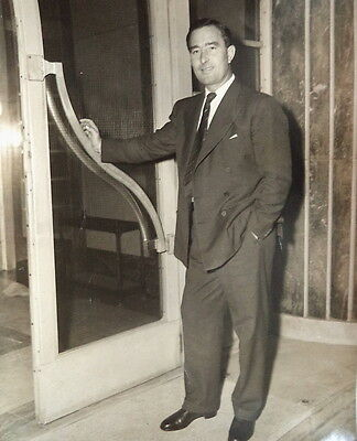 Denis Compton At University College Pre-Op 1955 Photo