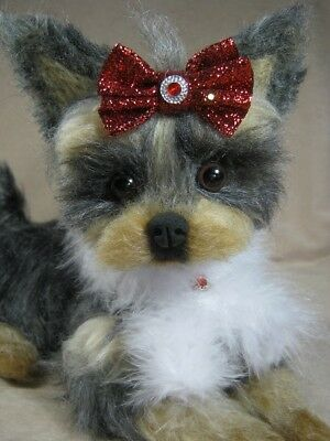 ~*OOAK Needle felted Yorkie Yorkshire Terrier Puppy/Dog*~