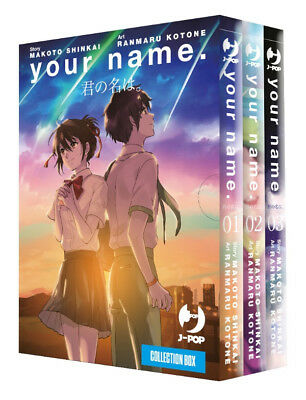 manga - YOUR NAME BOX (N. 1-2-3) serie completa - nuovo - j-pop ITALIANO