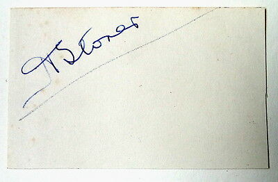Harry Storer Derby County & England 1924 Ink Autograph