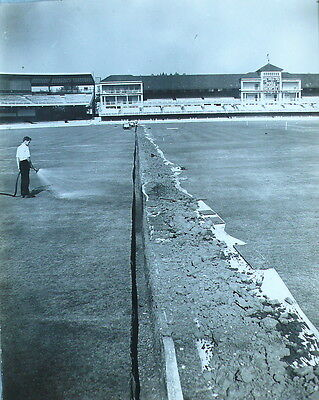 Lord'S – New Pitch Drainage System 1964 - Photograph