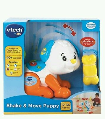 Vtech Baby Shake & And Move Puppy Brand New In Box