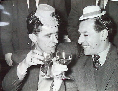 Tottenham Players Tommy Harmer And George Robb 1959