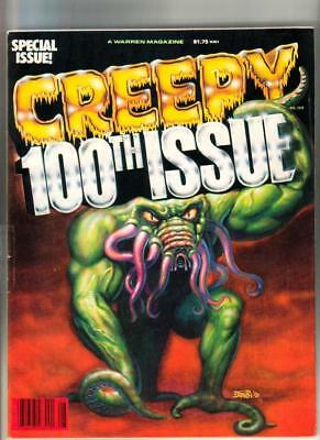 Creepy #100 - 90 pages; Warren 1978  VF
