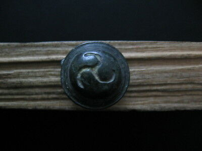 Perfect Triskelion Mark Amulet Ancient Celtic Bronze Druids Talisman 500-200 Bc.