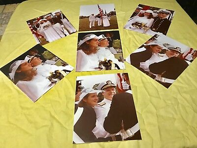 "Vintage Naval Officer Wedding Photos  8""x10"""