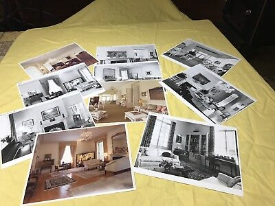 Vintage 1980's house photos B&W + color (11) total