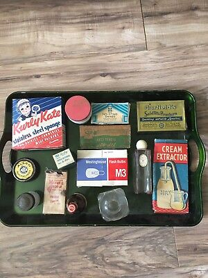 vintage antique advertising lot 14 Pieces Maxwell house, Kurly Kate, medical
