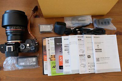 (VERY LOW SHUTTER COUNT) Sony a7S 12.2 MP Digital Camera(Body Only)