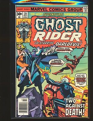 Ghost Rider # 20 VF/NM Cond.