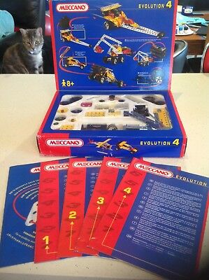Meccano Evolution set 4. 50 models.
