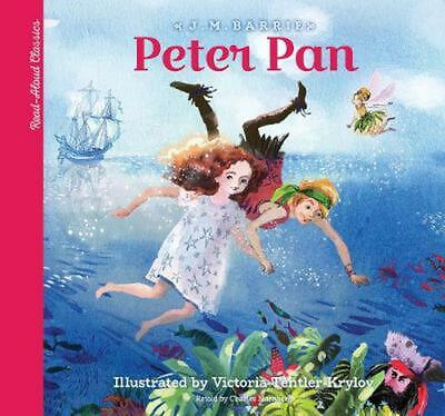 Read-aloud Classics: Peter Pan by Sir J.M. Barrie Hardcover Book Free Shipping!