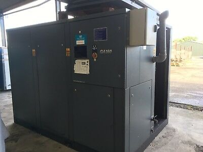 Air Compressor atlas copco GA160 screw compressor