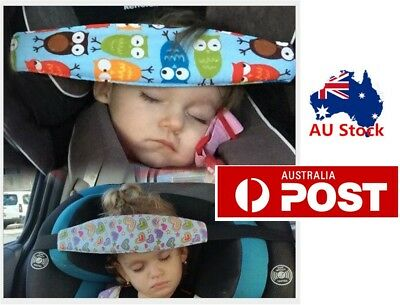Safety Car Seat Sleep Nap Baby Kids Toddler Head Fasten Support Holder Belt