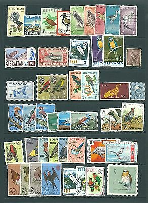 A THEMATIC stamp collection - BIRDS
