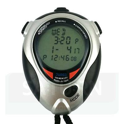 Junsd JS-7064V 1/1000th Stopwatch - Vibrate - Football/Boxing/Basketball Timers