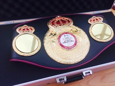 Official WBA Championship Boxing Belt- Genuine Used Trophy-please Read