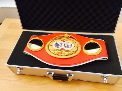 Official IBF Championship Boxing Belt-Genuine Used Trophy-given to Champions