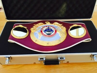 Official WBO Championship Boxing Belt- Genuine Used Trophy-please Read