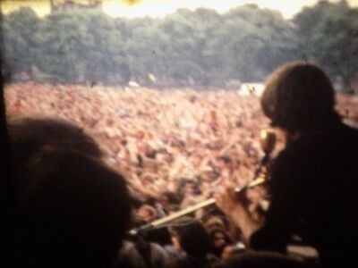 Pink Floyd Hyde Park Free Concert 18th July 1970 Unseen 8mm Film !REDUCED PRICE!