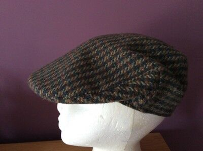 Mens/Boys Flat Cap Wynnster Country Cap Size S