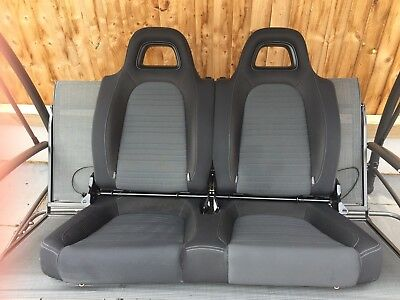 VW SCIROCCO MK3 BLACK Merlin BACK SEAT 2010